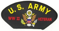 US Army WW II Veteran Patches